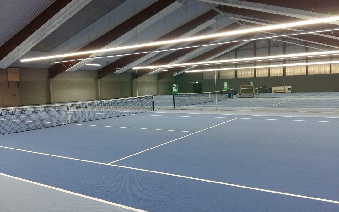 Tennishalle ist wieder geöffnet