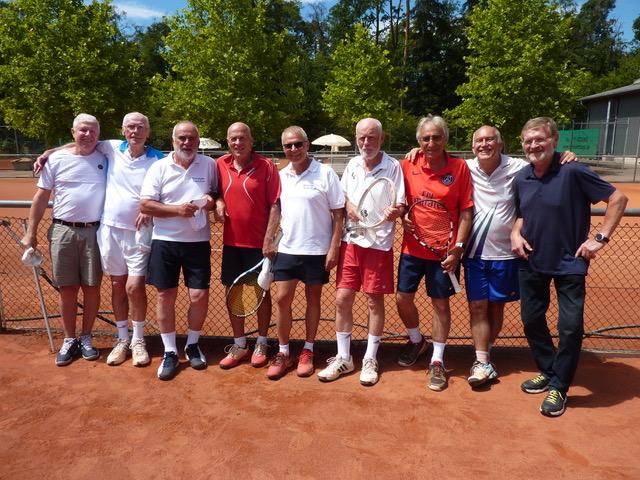 Erfolgreiche Saison der Herren 65 – So sehen Aufsteiger aus.
